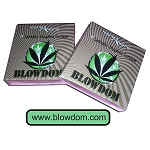 Blowdom : The Cannabis Inspired Condom : CE 2 Pack