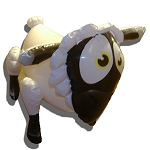 Lady Bah Bah : Celebrity Inflatable Sheep (No Carton)